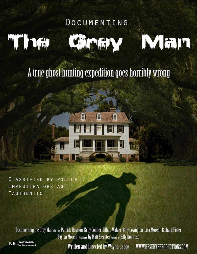Documenting the Grey Man Poster