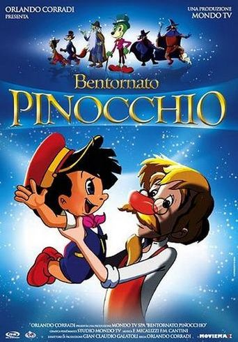 Welcome Back Pinocchio Poster