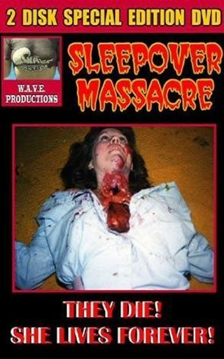 Sleepover Massacre Poster