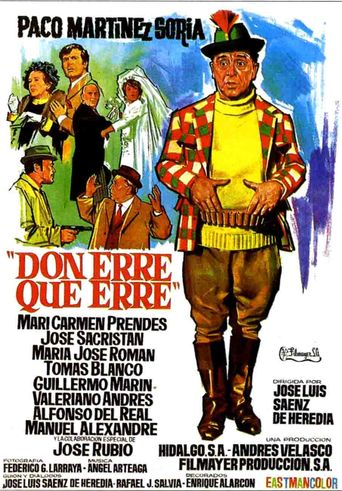 Don erre que erre Poster