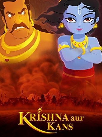 Krishna and Kamsa Poster