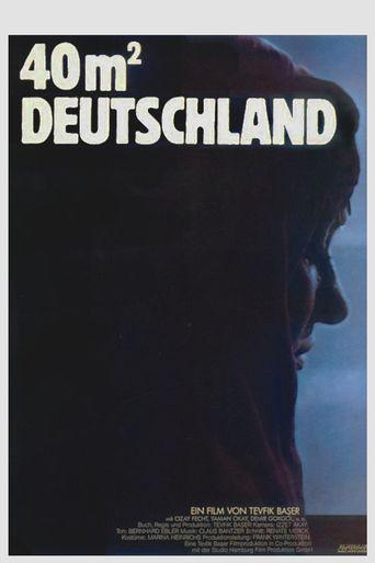 40 Quadratmeter Deutschland Poster