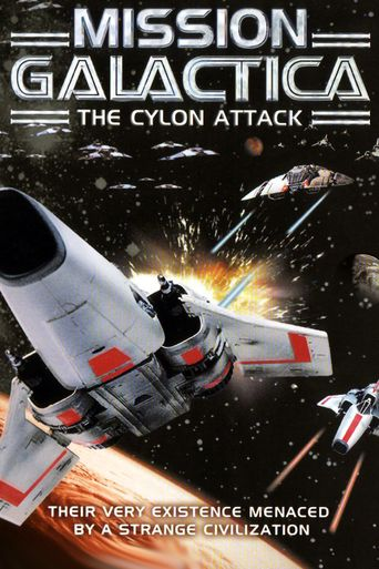 Mission Galactica: The Cylon Attack Poster