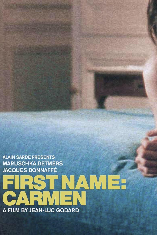 First Name: Carmen Poster