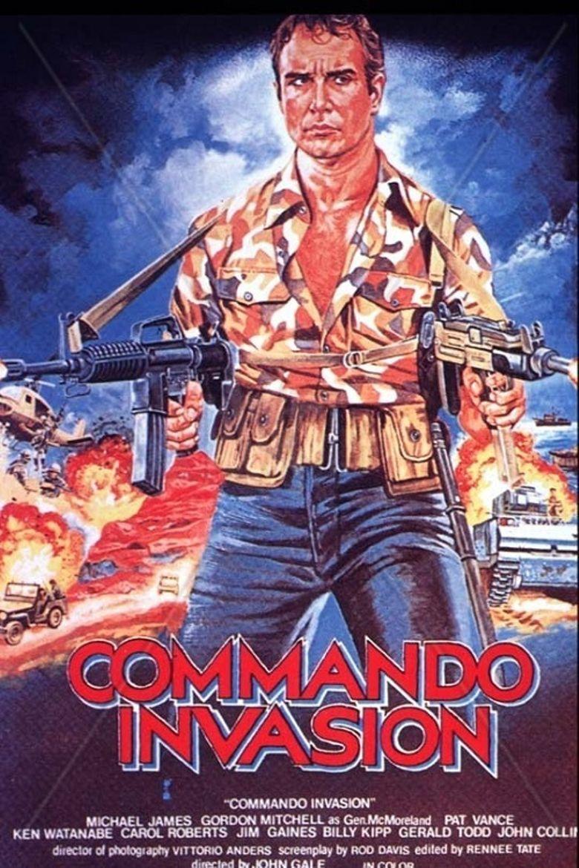Commando Invasion Poster