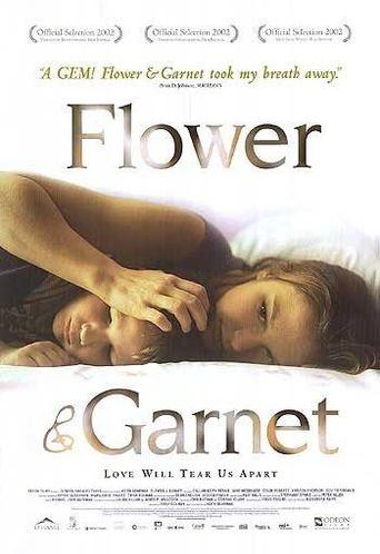 Flower & Garnet Poster