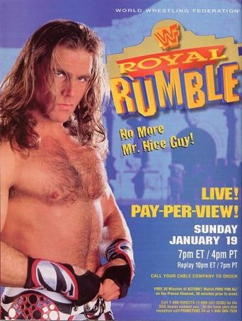WWE Royal Rumble 1997 Poster