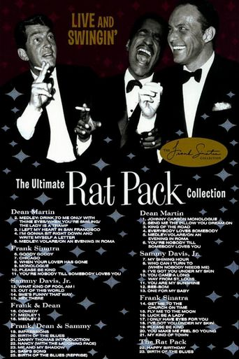 Live and Swingin': The Ultimate Rat Pack Collection Poster