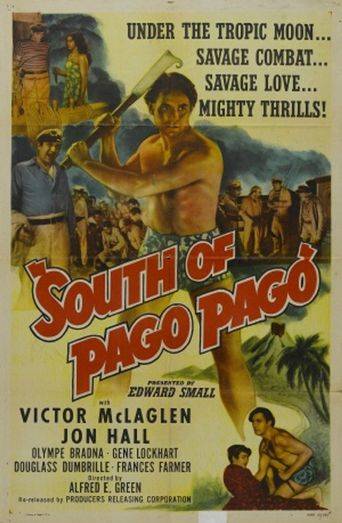 South of Pago Pago Poster