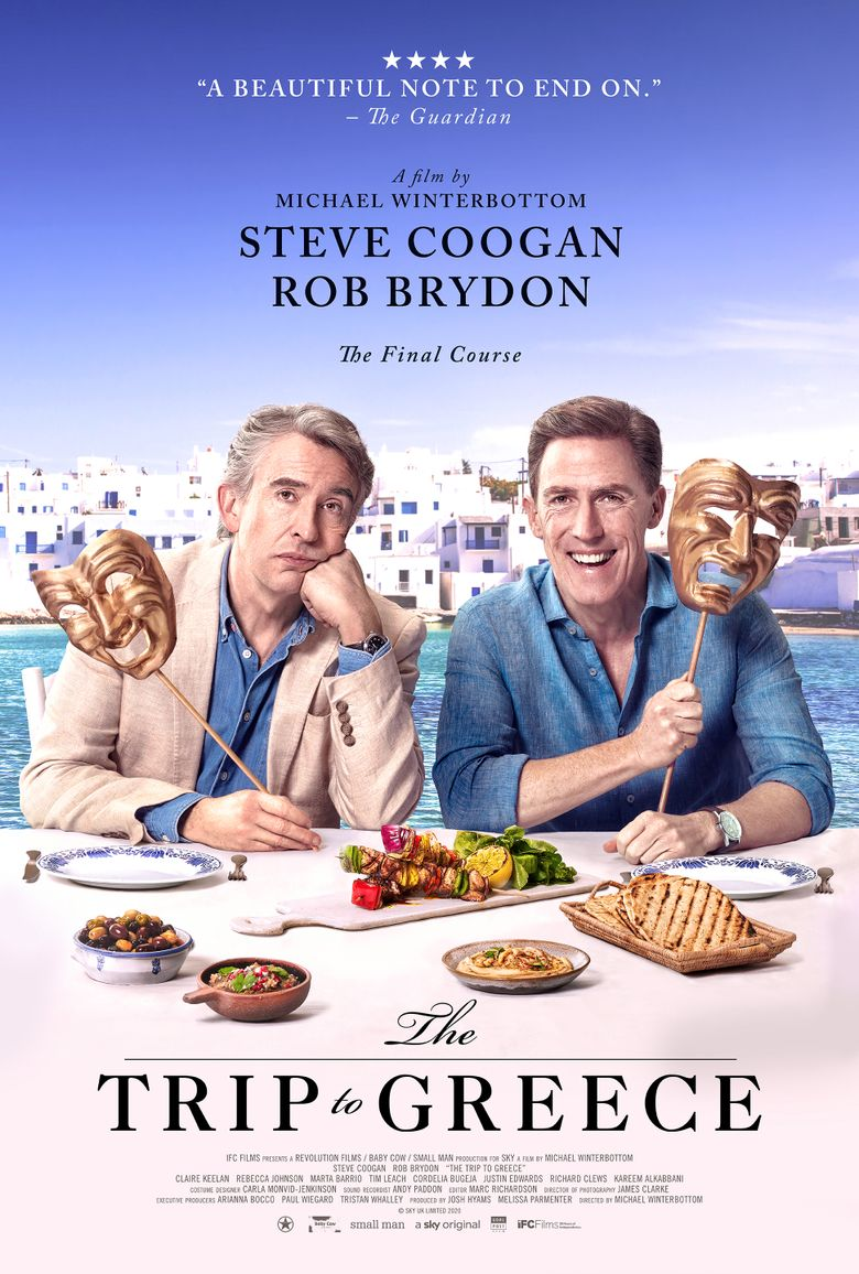 The Trip to Greece Poster