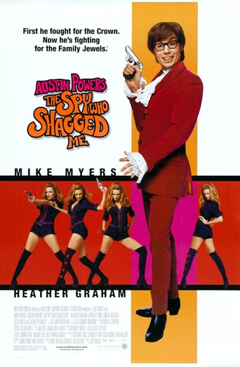 Austin Powers: The Spy Who Shagged Me Poster