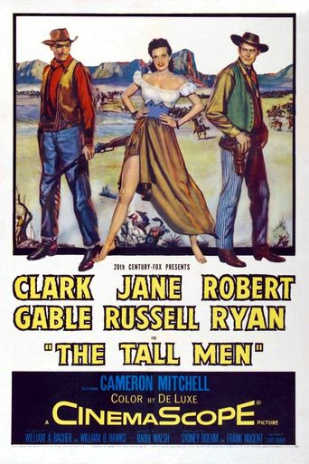 The Tall Men Poster