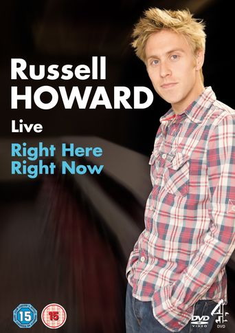 Russell Howard: Right Here Right Now Poster