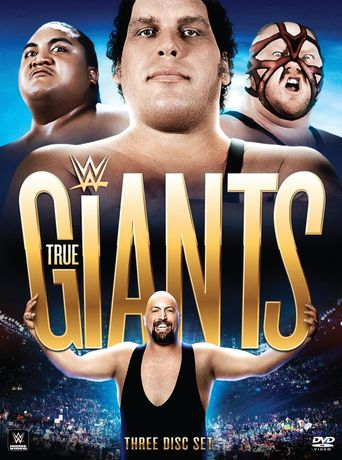 WWE: Presents True Giants Poster