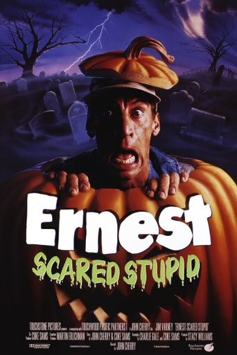 Ernest Scared Stupid Poster