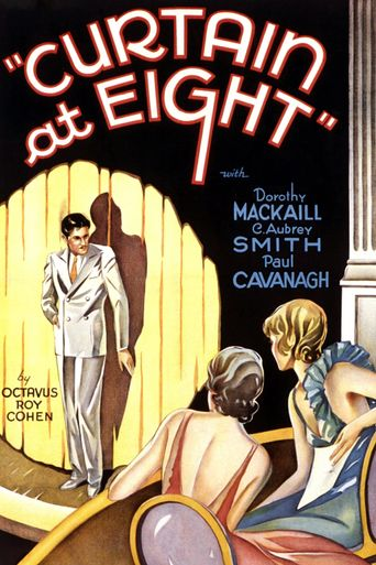 Curtain at Eight Poster