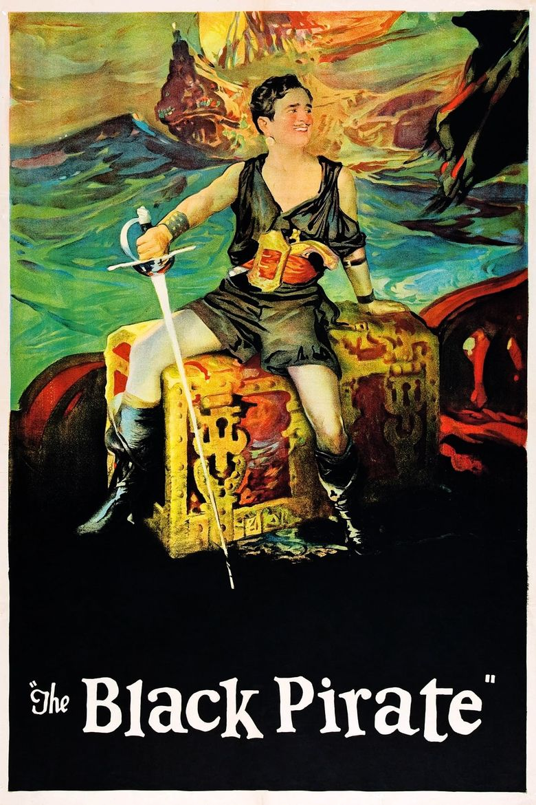 The Black Pirate Poster