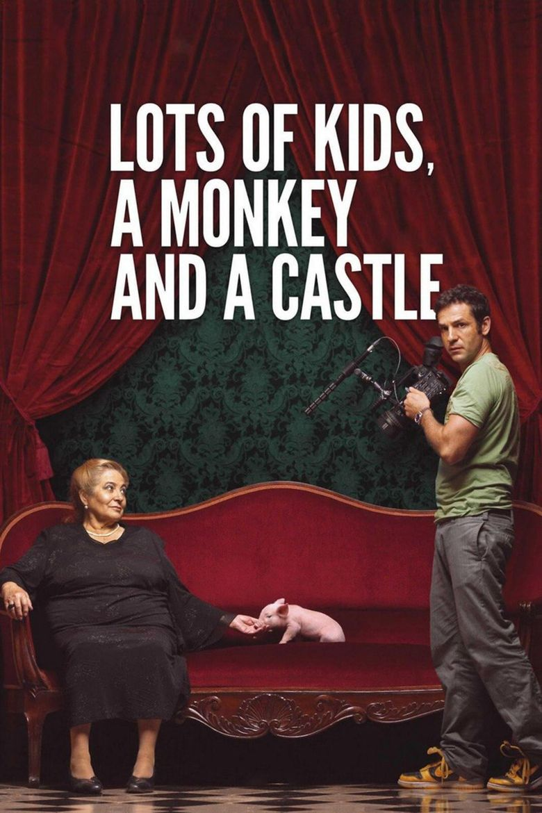 Lots of Kids, a Monkey and a Castle Poster