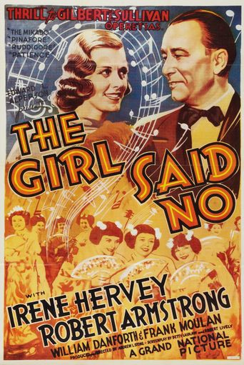 The Girl Said No Poster