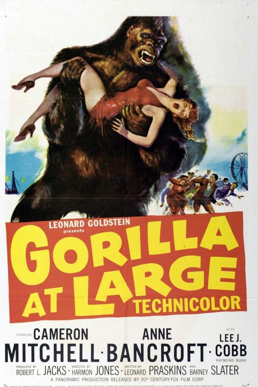 Gorilla at Large Poster