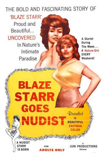 Blaze Starr Goes Nudist Poster