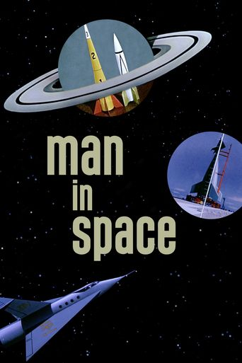 Man in Space Poster