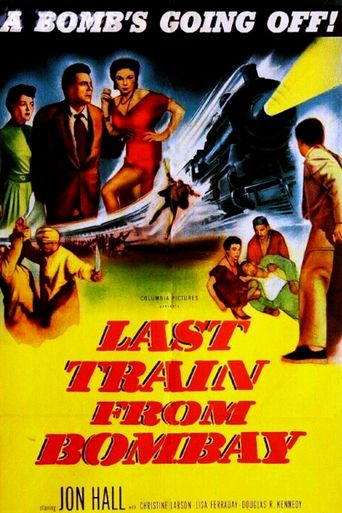 Last Train from Bombay Poster