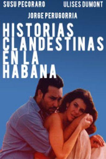Historias clandestinas en La Habana Poster