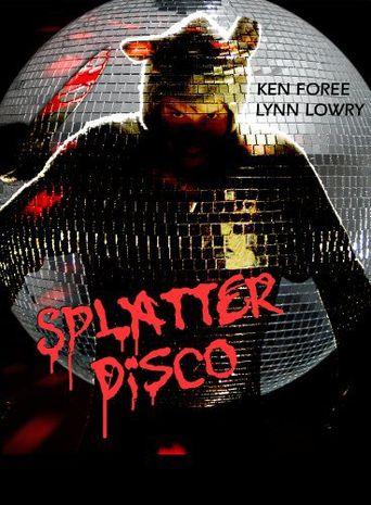 Splatter Disco Poster
