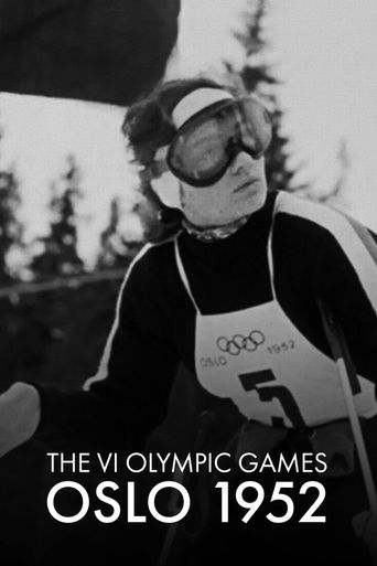 The VI Olympic Winter Games, Oslo 1952 Poster