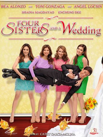 Four Sisters And A Wedding Poster