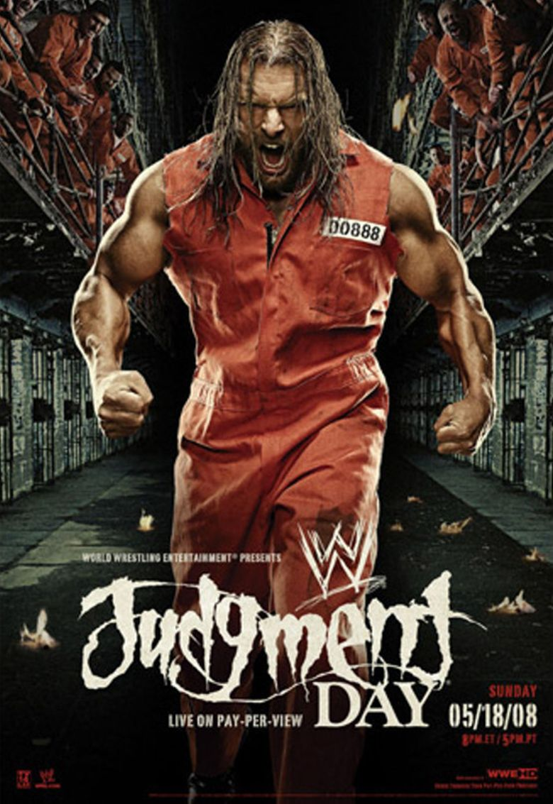 WWE Judgment Day 2008 Poster