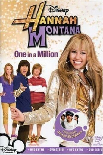 Hannah Montana: One in a Million Poster