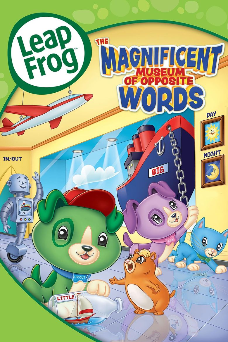 LeapFrog: The Magnificent Museum of Opposite Words Poster