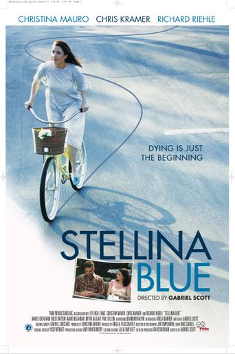 Stellina Blue Poster