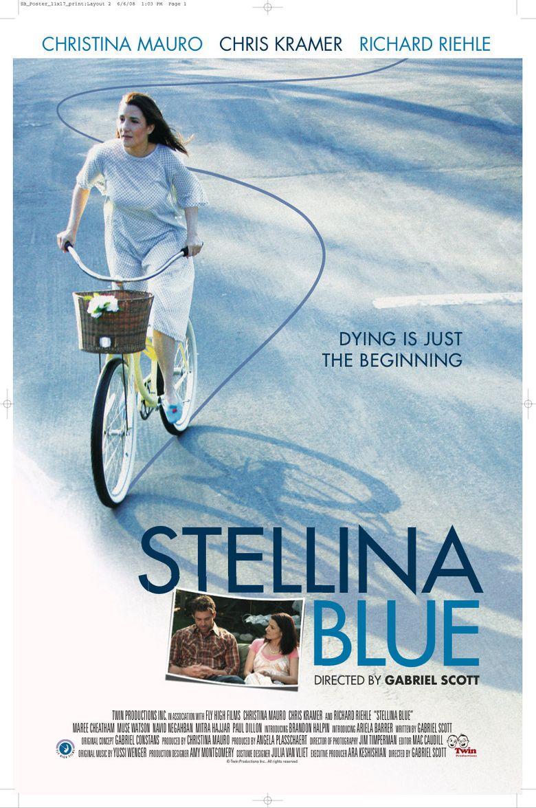 Stellina Blue Poster
