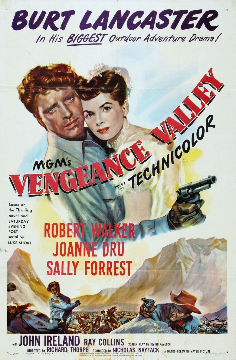 Vengeance Valley Poster