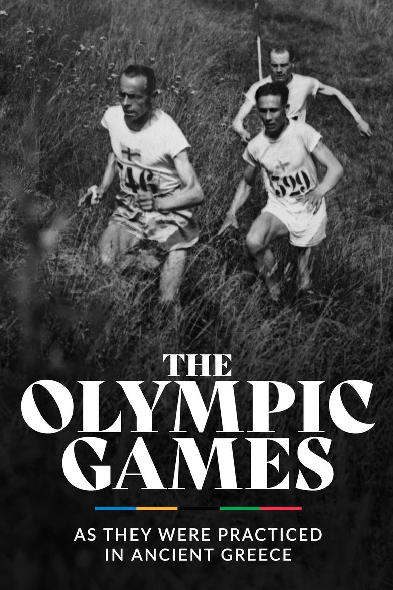 The Olympic Games as They Were Practiced in Ancient Greece Poster