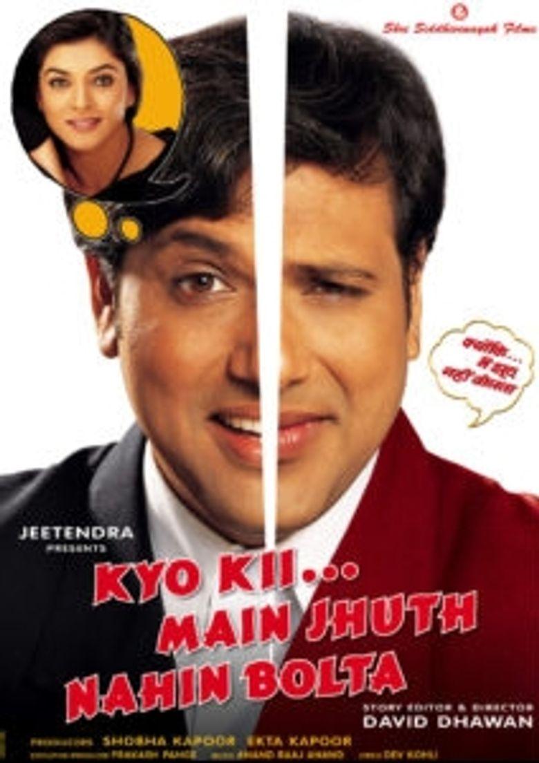 Kyo Kii... Main Jhuth Nahin Bolta Poster