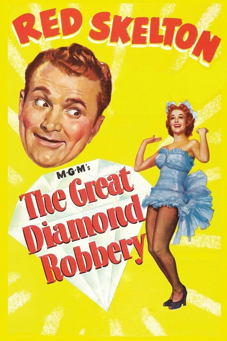 The Great Diamond Robbery Poster