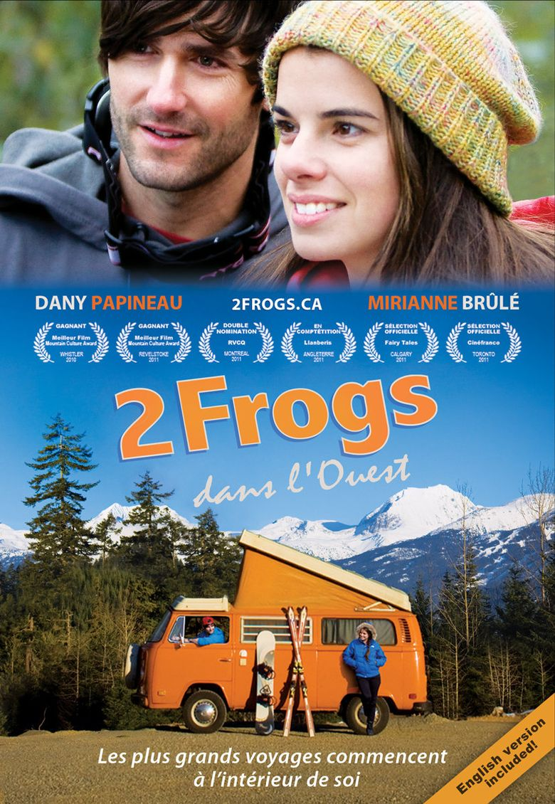 2 Frogs in the West Poster