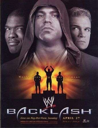 WWE Backlash 2003 Poster