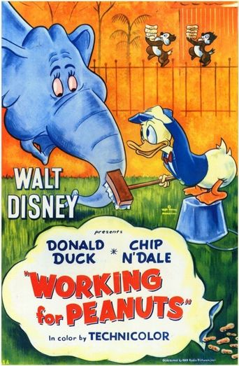 Working for Peanuts Poster