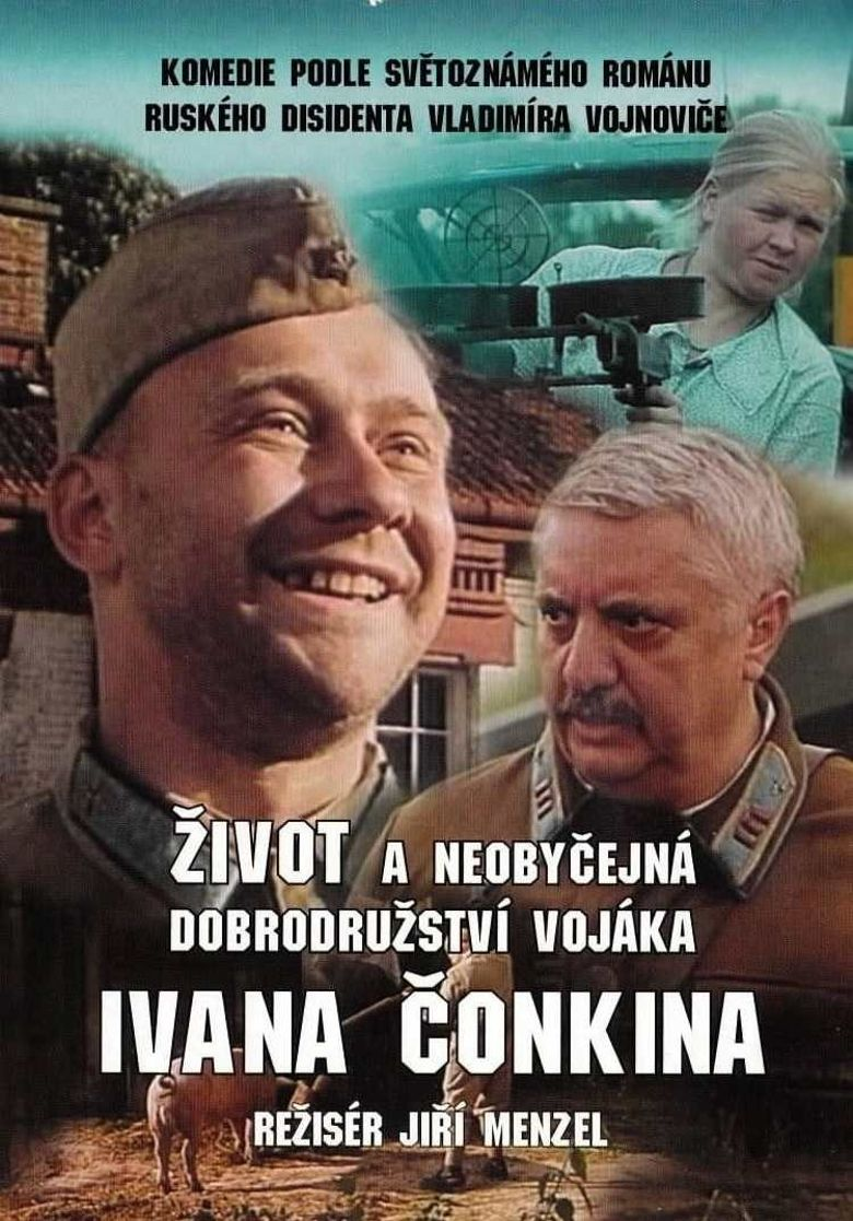 Life and Extraordinary Adventures of Private Ivan Chonkin Poster
