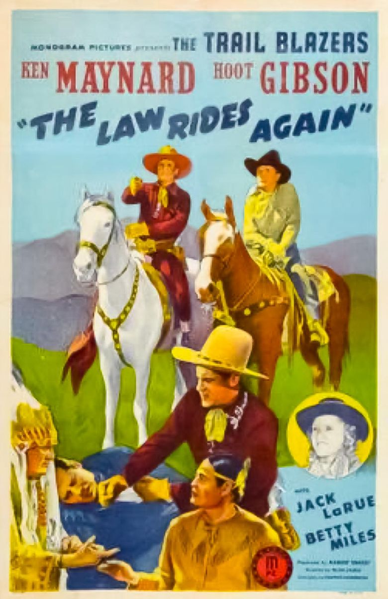 The Law Rides Again Poster