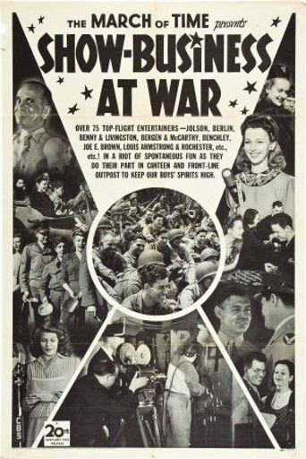 Show-Business at War Poster