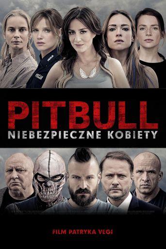 Pitbull Tough Women Poster