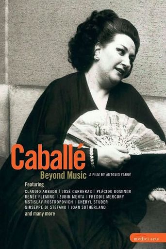 Caballe beyond music Poster