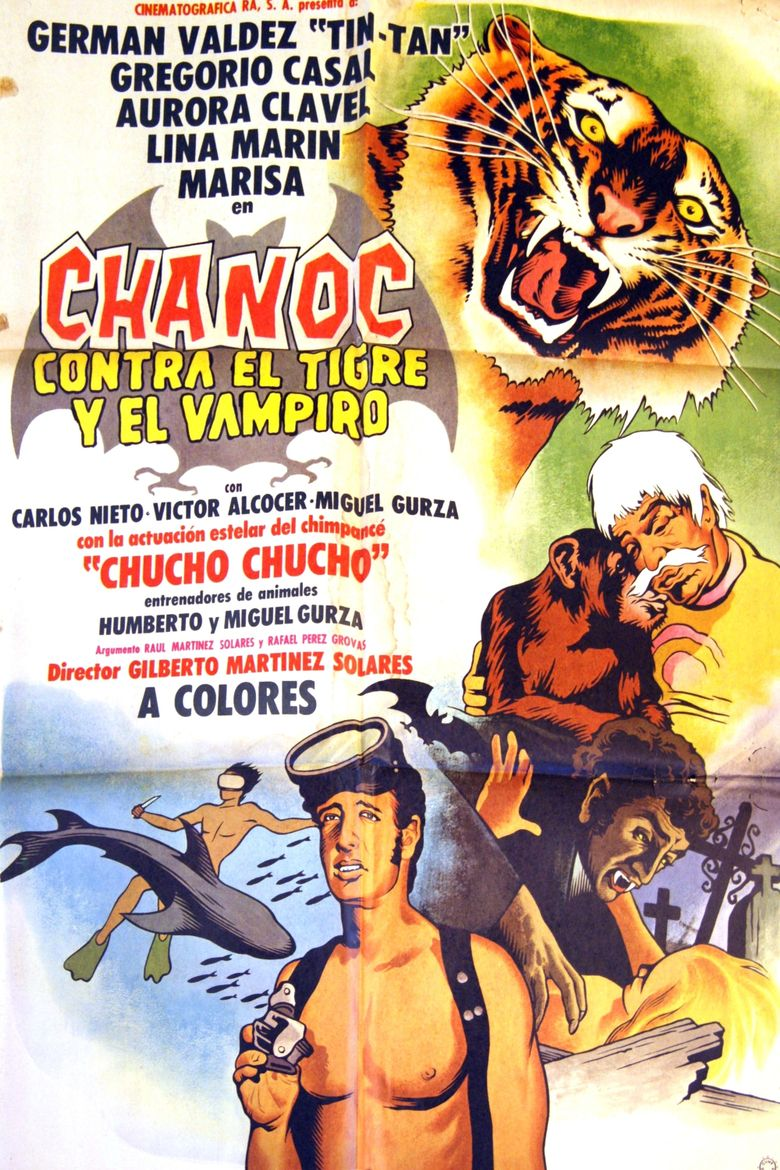 Chanoc vs. the Tiger and the Vampire Poster