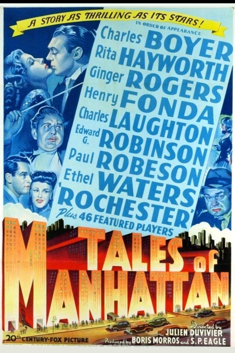 Tales of Manhattan Poster